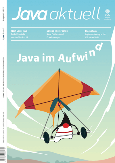 Cover Java aktuell 01/2019